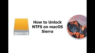 How To Install Paragon NTFS For macOS Sierra (full version)