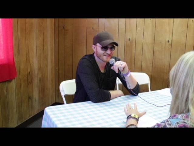 Eric Paslay Interview at Stagecoach 2016