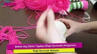 Bebek Göz Yapılışı Örgü Oyuncak Amigurumi , Canım Anne - Video ... | 180x320