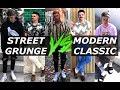 Street Grunge VS Modern Classic | Style Swap | Gallucks