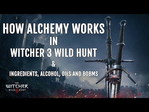 How Alchemy works in Witcher 3: Wild Hunt - An Overview