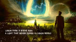 Gambar cover Linkin Park X Steve Aoki - A Light That Never Comes (Illusion Remix) [Free Release]