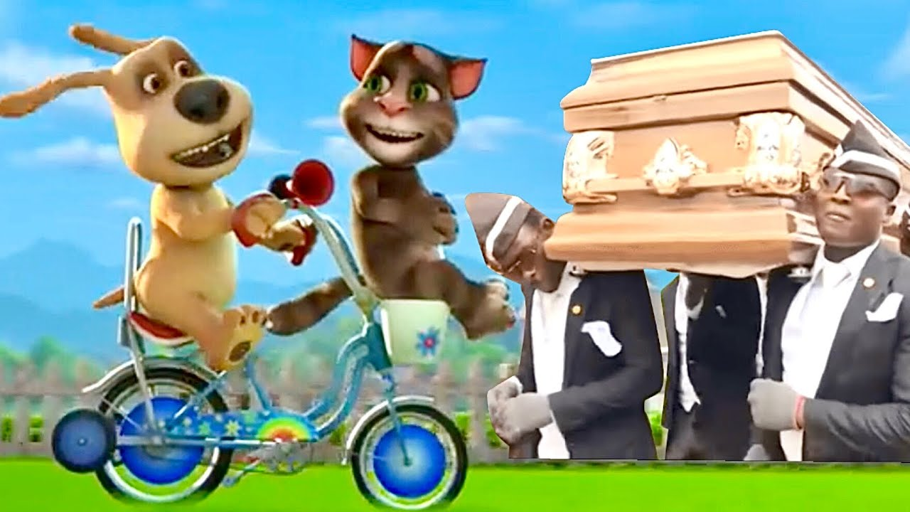 Talking Tom and Friends Coffin Dance Meme 15