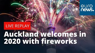 Happy New Year New Zealand! Auckland welcomes in 2020 with celebratory fireworks