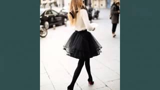 Black Tulle Skirts | Picture Set Of Lovely Women Tutu Dress Skirt Romance