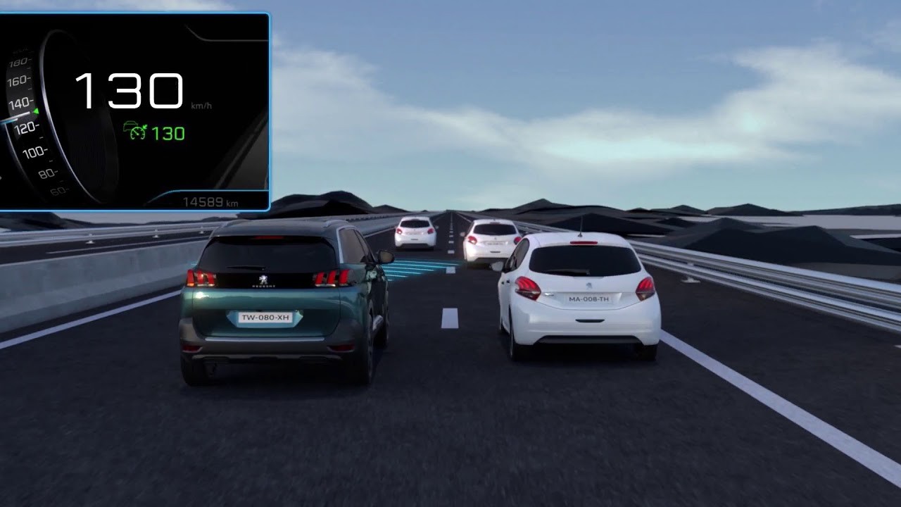 Adaptive Cruise Control with Stop Function New Peugeot