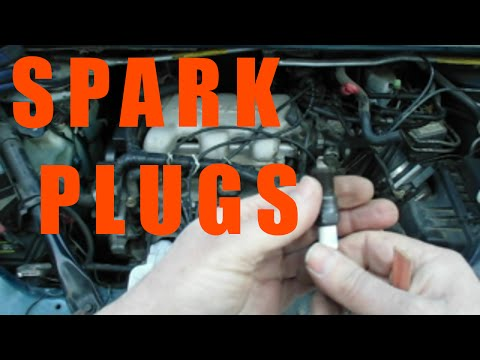 change SPARK PLUGS replacement regaping how to DIY- GM 3100 – 3400 – 3800 v6 engine cars
