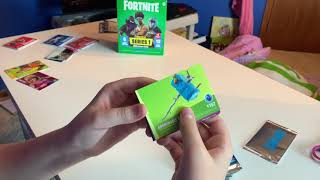 Fortnite Trading Cards! 12 Pack Unboxing (Foil Parallel Cards)