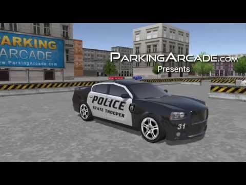 3D Police Car Parking 2015 - Game Video Trailer