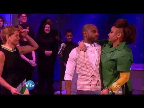 Kaufman Music Center's Special Music School on The View with Kirk Franklin