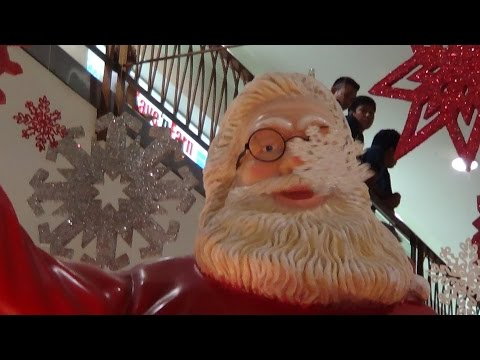 PHILIPPINES WALKING TOUR OF MANILA AIRPORT & MERRY CHRISTMAS FROM MICHAEL FAZIO IN THE PHILIPPINES