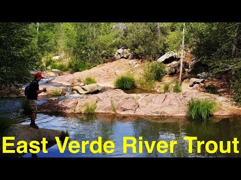 Trout Fishing Arizona's East Verde River