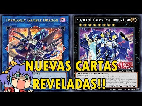 Yu-Gi-Oh! Nuevas Cartas Reveladas! - Topologic Gamble Dragon - Collector's Pack 2018