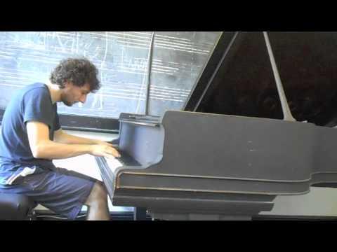 Raffaele Scoccia (aka Moon Rocket) -  Plays  Libertango Luis Bacalov Arrangement (Part 1)