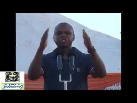 'Utajua Kwa Nini Kuku Hana Matiti' Governor Amason Kingi Challenges 'Desk Officer' Nelson Marwa