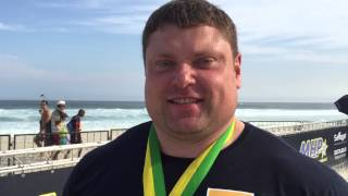 Savickas comments after his 228kg Log Record