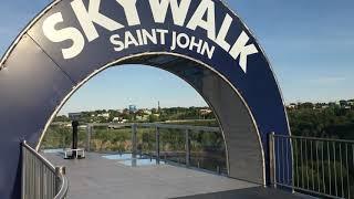 Skywalk, Saint-John, NB