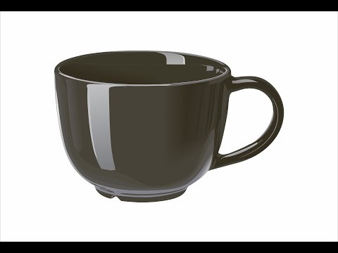 Vector Lessons | How to Draw a Tea Cup