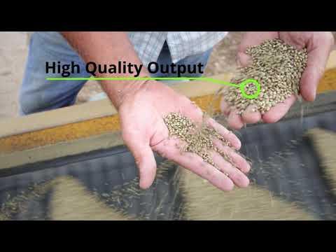 Hemp Seed Cleaning – GCS Screen Grain Cleaner