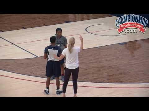 How Geno Auriemma Wants Athletes to Play 1-on-1 Defense!