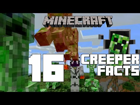 Minecraft - 16 Creeper Facts You Might Not Know