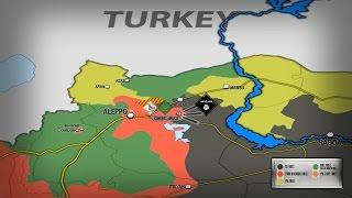 25-26 декабря 2016. Сирийская армия уничтожила 50 игиловцев возле Квейрис. Русский перевод.