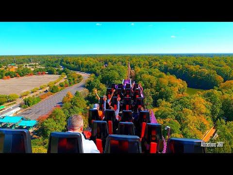 Roller Coaster GoPro HERO9 Horizon Leveling Test - Busch Gardens Theme Park