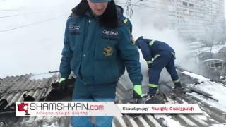 Խոշոր հրդեհ Երևանում․ օպերատիվ գործողությունների արդյունքում արհեստանոցի կրակի տարածումը կանխվեց