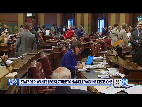 Bill would let lawmakers control vaccination rules