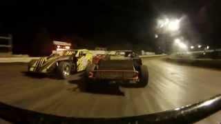 Garret Stewart : UMP Mod : Volusia Speedway Park : 10-4-14