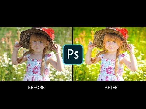 Quick Tutorial Photoshop  - Make A Pop Of Color Effects - Camera RAW Filter