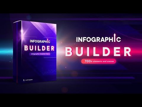 Infographic Builder ★ After Effects Template ★ AE Templates