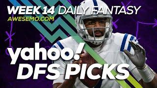 Yahoo NFL DFS Strategy - Week 14- Fri 12/6 - Awesemo.com