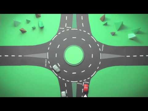 Sådan Kører Du I En Tosporet Rundkørsel