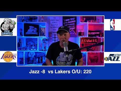 Utah Jazz vs Los Angeles Lakers 2/24/21 Free NBA Pick and Prediction NBA Betting Tips