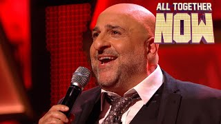 Omid Djalili blows the 100 away with Dean Martin classic | A...