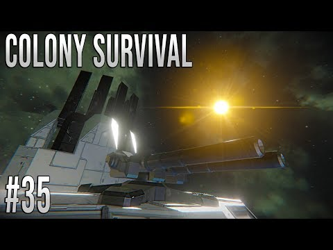 Space Engineers - Colony Survival Ep #35 - Building a STARBASE!