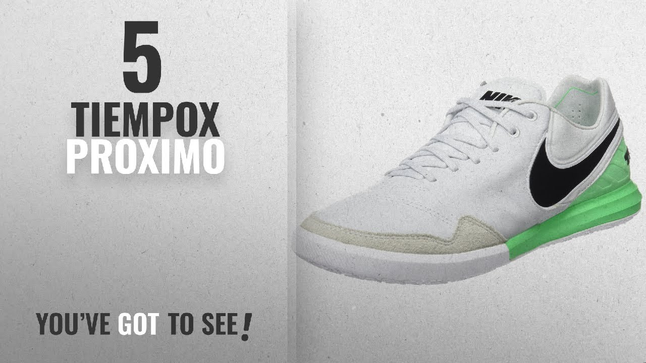 d3b3c9324739 Top 10 Tiempox Proximo [2018]: Nike TiempoX Proximo IC Platiinum ...