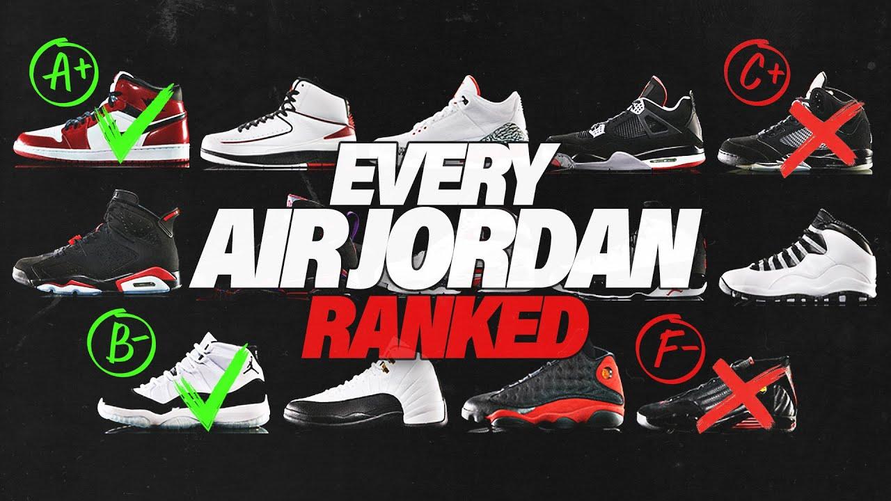 air jordan every shoe