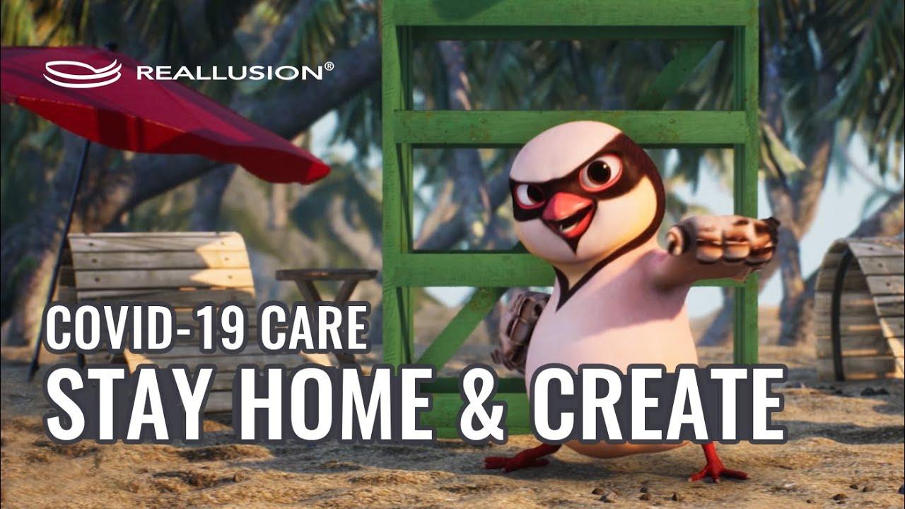 Reallusion COVID-19 CARE Program - Stay Home Safe & Create