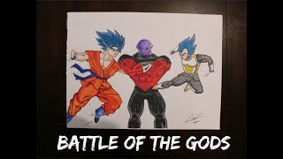Goku and Vegita VS Jiren! ULTIMATE BATTLE!!!!