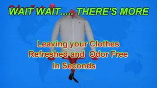 How to Remove Odors from Dry Clothes in Minutes.
