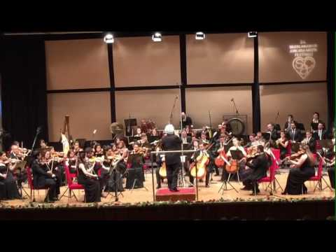 AGSO plays UC Erkin's 1st Symphony at 34th Ankara Music Festival. Conductor Gürer Aykal