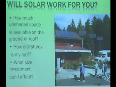 Pricing and Return on Investment For Renewable Energy - March 8, 2014