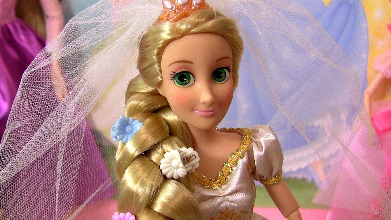 Boneca rapunzel enrolados para sempre youtube - Disney princesse raiponce ...