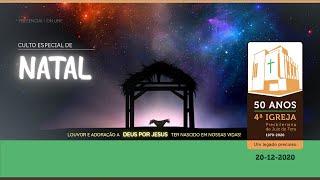 CULTO ESPECIAL DE NATAL - 201220