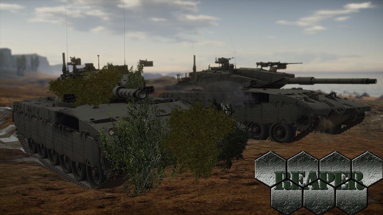 War Thunder Merkava Mk2
