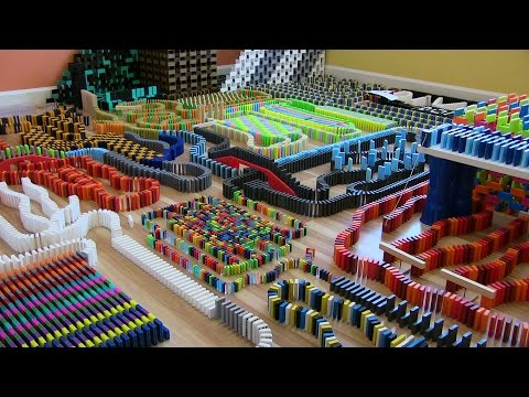 DIVERSE DOMINO DISARRAY!!! (20,000 DOMINOES!)