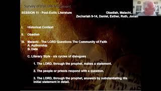Bible Survey Class - Session 11