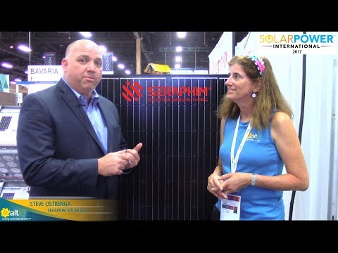 A look at Made in USA Seraphim Solar panels